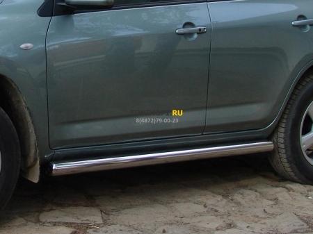 Hyundai Tucson 2004-2010г.в.-Пороги d-60 труба